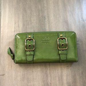Authentic Coach Patent Leather Wallet